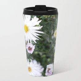 Flowers 2 Metal Travel Mug