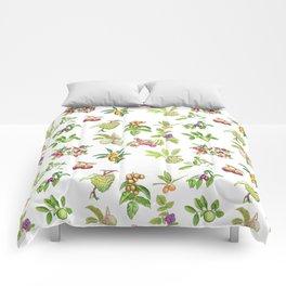 Tropical Fruit Comforters