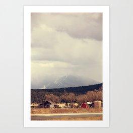 Flagstaff Art Print