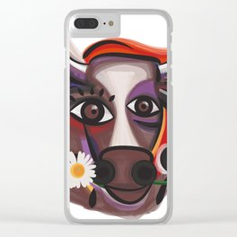 Vaca Clear iPhone Case