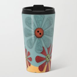 Country Flowers Travel Mug