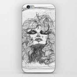 One Line Collection - Vicky iPhone Skin
