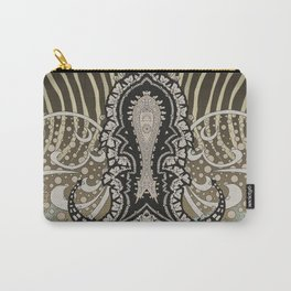 paisley animal Carry-All Pouch