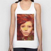 irish Tank Tops featuring Irish fairy by Ganech joe