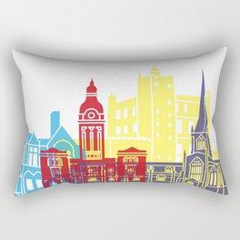 Chesterfield UK skyline pop Rectangular Pillow