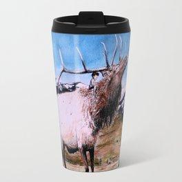 Elk and child Travel Mug