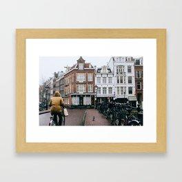 Centrum - Amsterdam, The Netherlands - #5 Framed Art Print