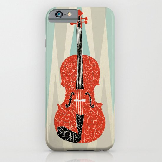 The Red Violin iPhone & iPod Case