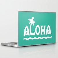 aloha Laptop & iPad Skins featuring Aloha! by Dylan Morang