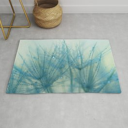 dandelion blue IX Rug