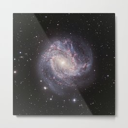 Spiral Galaxy Messier 83 Metal Print