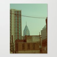 philadelphia Canvas Prints featuring Philadelphia by Jeremy Jon Myers