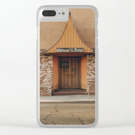 chinese cuisine Clear iPhone Case