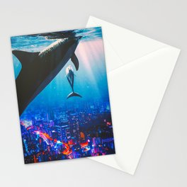 Midnight City Cruisers Stationery Cards