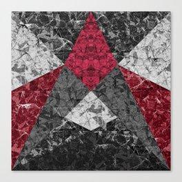 Marble Geometric Background G431 Canvas Print