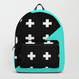 Memphis pattern 78 Backpack