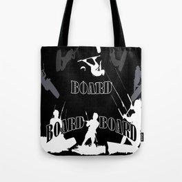 Board Board Board Kiteboarding Tote Bag