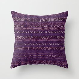 45 Degrees: Glam Throw Pillow