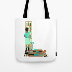 L as Libraire (Bookseller) Tote Bag