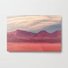 Atacama Desert, Chile Metal Print