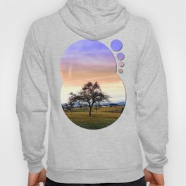 Old tree and amazing cloudy sky | landscape photography Hoody