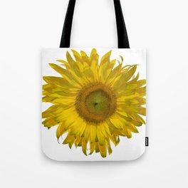 Yellow Sunflower Blossom Tote Bag