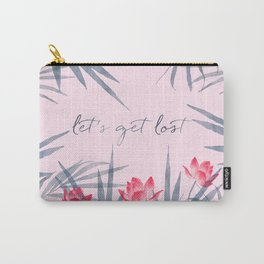 Let's get lost! Carry-All Pouch