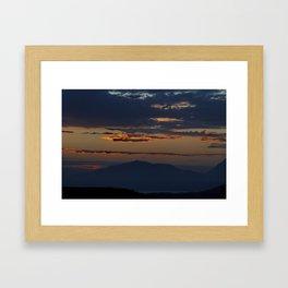 Cretan Dawn Framed Art Print