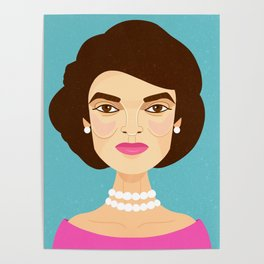 Jackie Onassis Poster