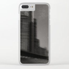 Growth. 130_12 Clear iPhone Case