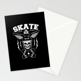 Skate or die Stationery Cards