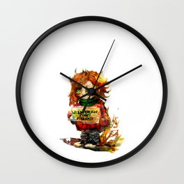 freelancer Wall Clock