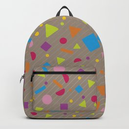 Geometric Figure Creation 11 Backpack