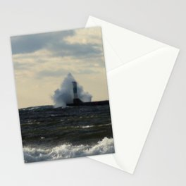 Weathering the storm Stationery Cards
