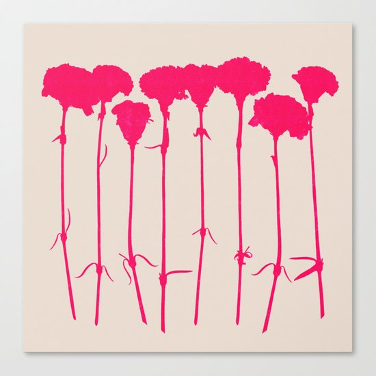 carnations 2 Canvas Print