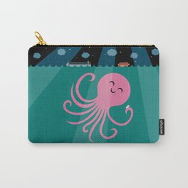 Octopus Selfie at Night Carry-All Pouch