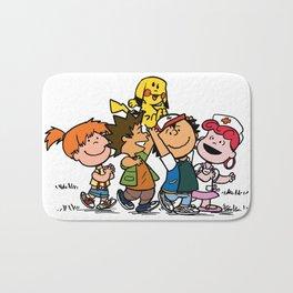 Peanuts Gang Bath Mat