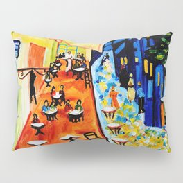 Cafe Terrace - Homage to Van Gogh Pillow Sham