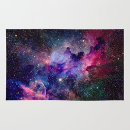 Galaxy Universe Stars Rug
