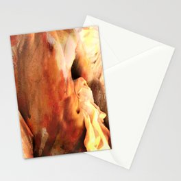 male nude painting  Stationery Cards