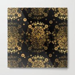 Sea treasure (gold) Metal Print
