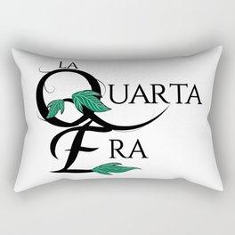 LaQuartaEra_White Rectangular Pillow