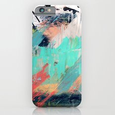 What a rush - a bright mixed media piece Slim Case iPhone 6s