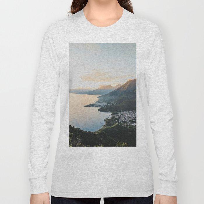 Lake Atitlán II, Guatemala Long Sleeve T-shirt