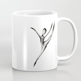 Dotted Dancer Three Coffee Mug