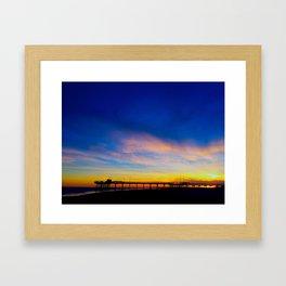 Avalon Pier  Framed Art Print