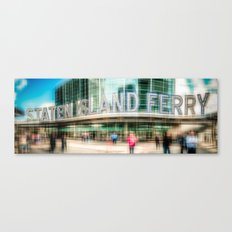 NYC - Staten Island Ferry -ld Canvas Print