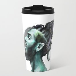 AfroAquaMan Travel Mug
