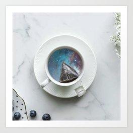 UNIVERSAL TEA Art Print
