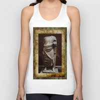 greece Tank Tops featuring Greece  by Saundra Myles